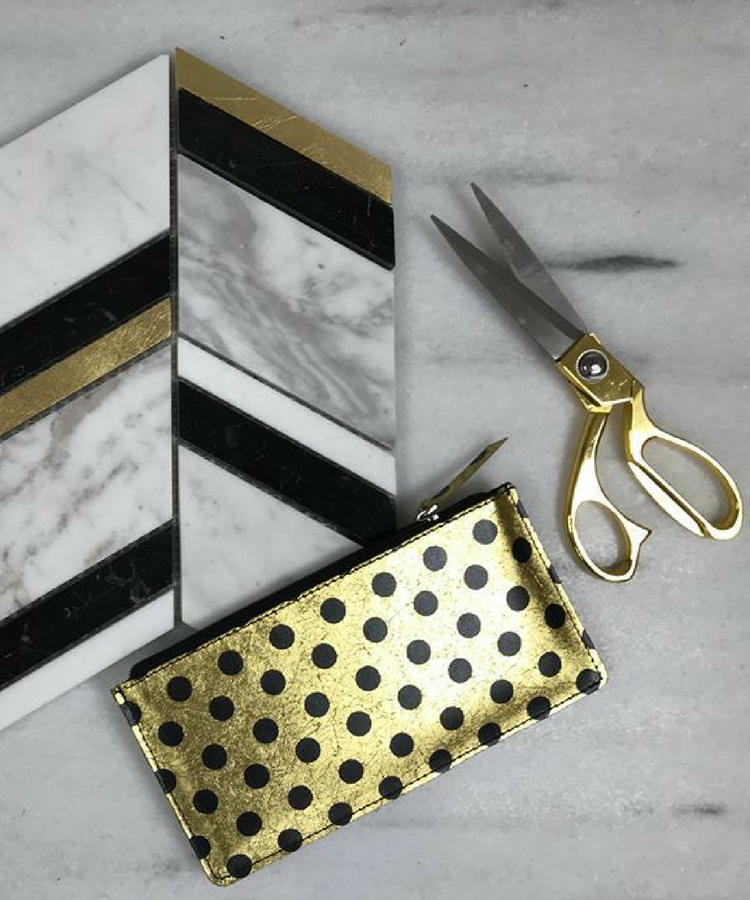 The new Ritz marble collection with gold accents
