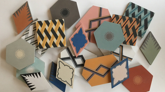 Jigsaw Encaustic tile collection