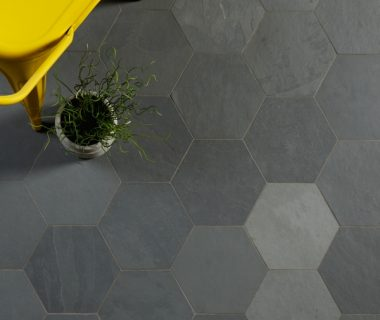 Outlet – Radcliffe Slate Steel Hexagon Riven Finish