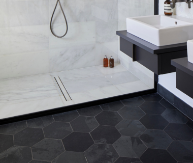 Radcliffe Slate Hexagon Riven Finish