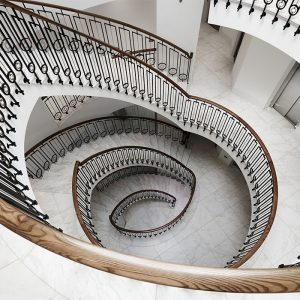 Stone Staircases