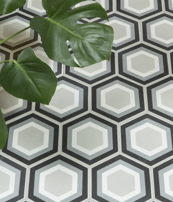 2180316 Hex Tile Floor