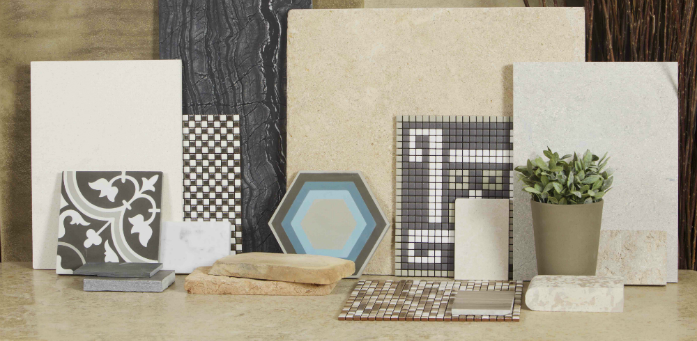 Stone Samples for interior and exterior floors and walls