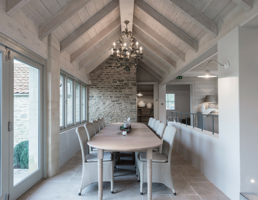 White Hart Studio Farmhouse dining space