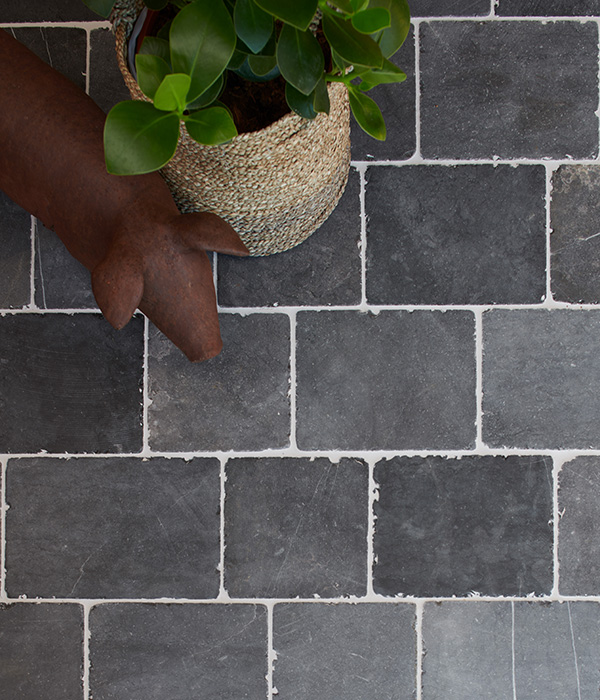 Ardmore Blue Limestone Cobble Tumbled Finish