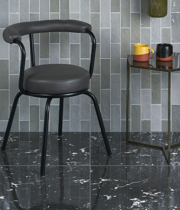 Manhattan Porcelain Marquina & Oasis Grey