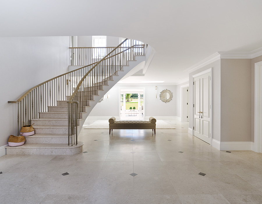 Tranquil Living - entrance hall