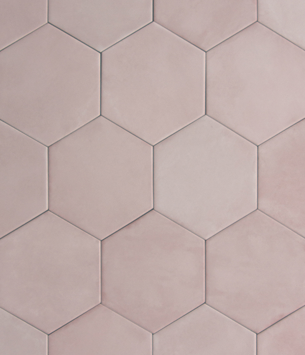 Medina Rosa Hex Tile group