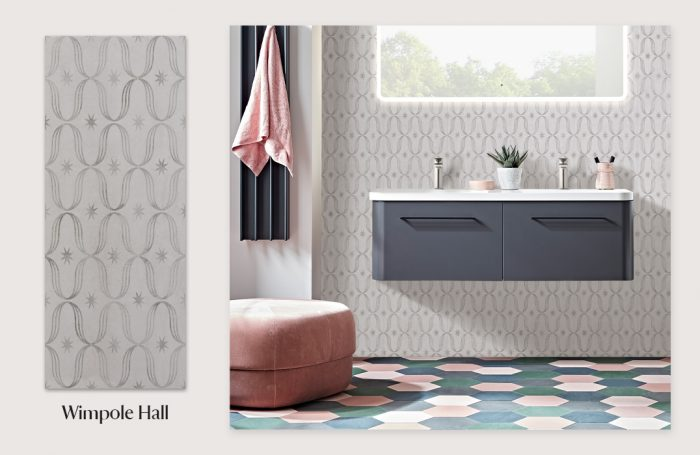 National Trust Tile Collection - Wimpole Hall moodboard