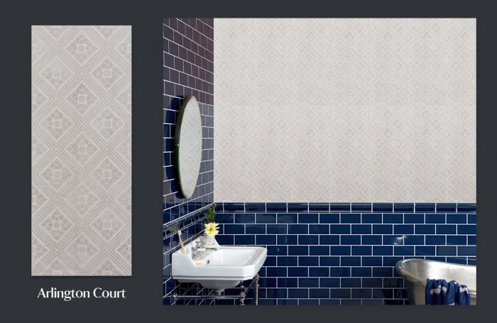 National Trust Tile Collection - Arlington Court moodboard