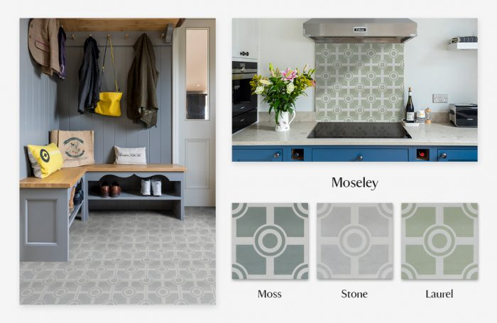 National Trust Tile Collection - Moseley moodboard