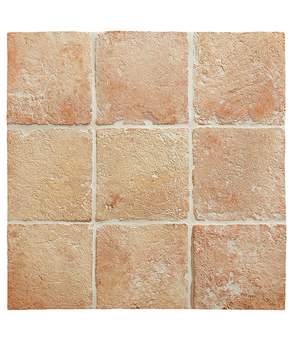 Terracotta with Stain Block & Stone Shield
